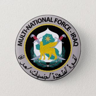 Multi-National Force - Iraq (1) 6 Cm Round Badge