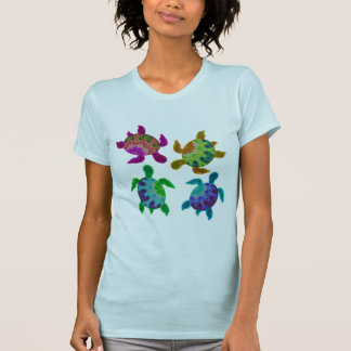 Multi Painted Turtles Apparel T-Shirt