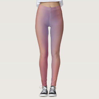 Multi Pastel Color Legging