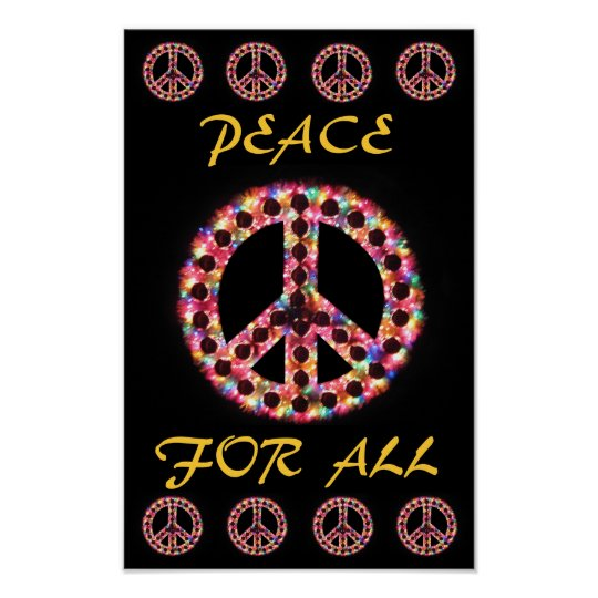 multi peace for all poster