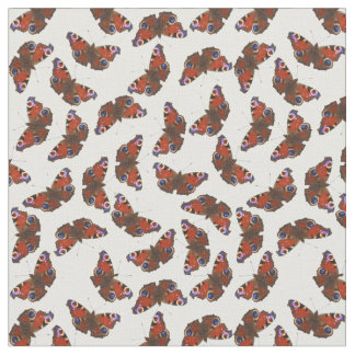 multi Peacock butterfly pattern Fabric