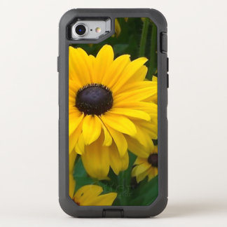 Multi-Petal Yellow Flower OtterBox Defender iPhone 8/7 Case