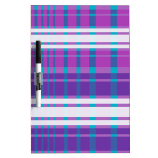Multi-plaid Dry Erase Whiteboard