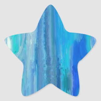 MULTI PRODUCTS ALL DONE IN A OCEAN FEEL STAR STICKER