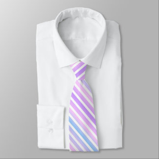 Multi Purple Striped Tie