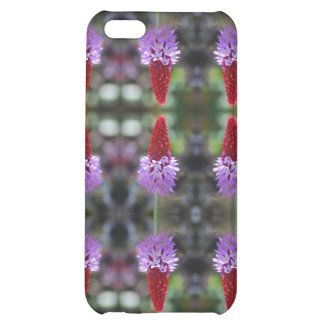 multi purple wildflower cover for iPhone 5C