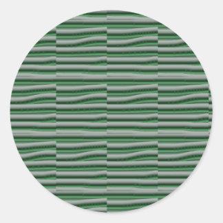 Multi purpose COLOR Shade Tones Gift Label Sticker