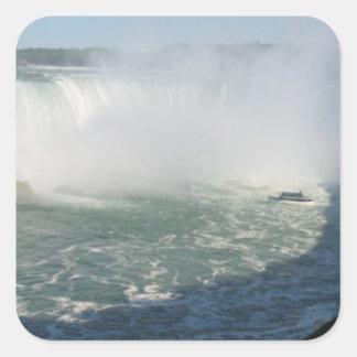 Multi Purpose Write-on n Decorative Niagara Falls Square Sticker