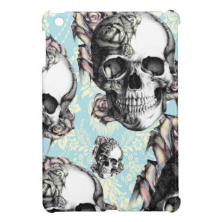 Multi skull and roses.  Don't be Blue. iPad Mini Covers