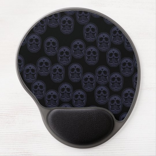Multi-Skulls Ver.3 Grape Purple Gel Mouse Pad