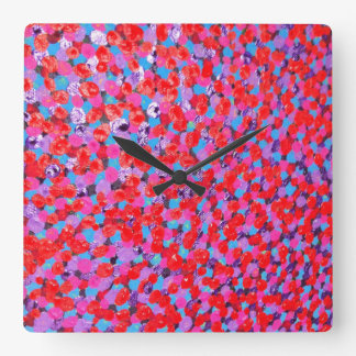 Multi Square Wall Clock
