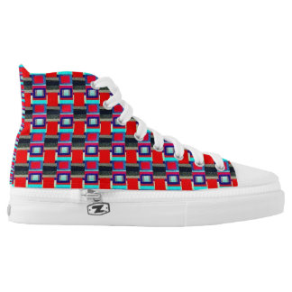 Multi Squared High Tops