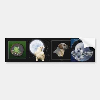 Multi-stickers I ANIMAL Set Bumper Sticker