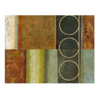 Multi-textured Abstract Painting by Vision Studio Postcard