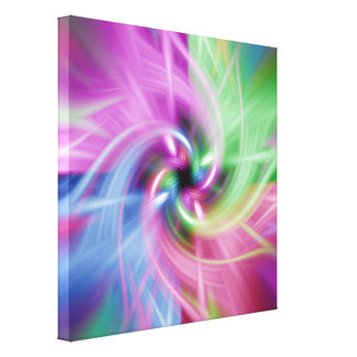 Multi Twist Stretched Canvas Prints