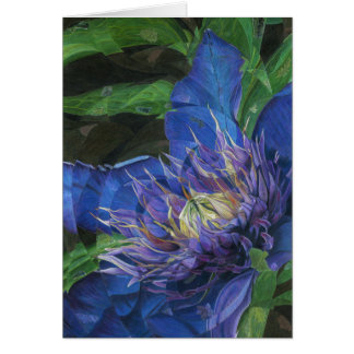 MultiBlue Greeting Cards (Blank)