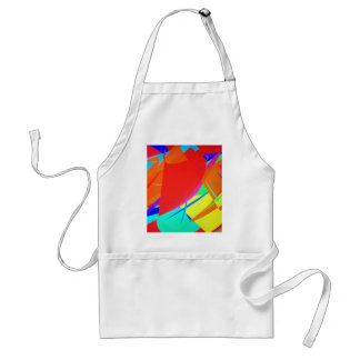 Multicolor Abstract Aprons