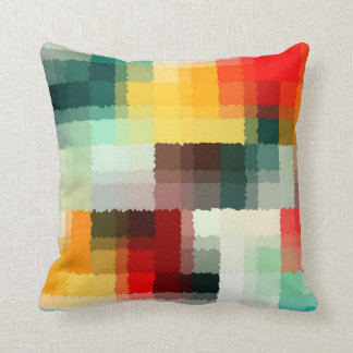 Multicolor Abstract Art Cushion