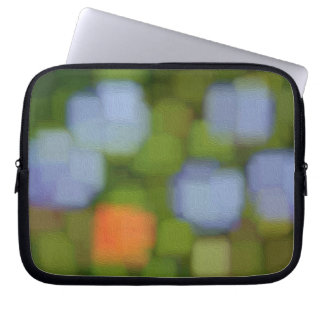 Multicolor Abstract Painting Laptop Sleeve