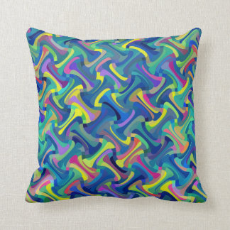 Multicolor Abstract Pattern Cushion
