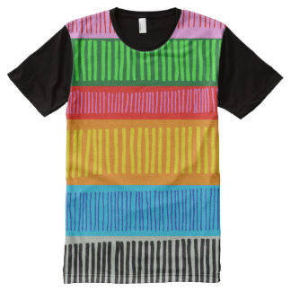 multicolor All-Over print T-Shirt
