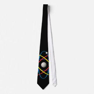 Multicolor Atom Symbol   Nerd Gift Tie