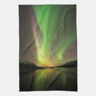Multicolor Aurora Tea Towel