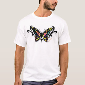 Multicolor Butterfly T-Shirt