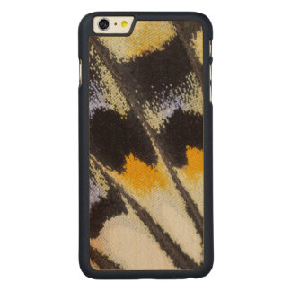 Multicolor butterfly wing pattern carved® maple iPhone 6 plus case