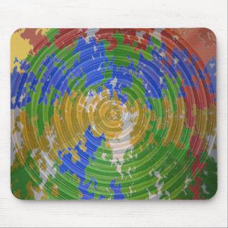 MULTIcolor CHAKRA : Nature Wheel Energy Mouse Pad