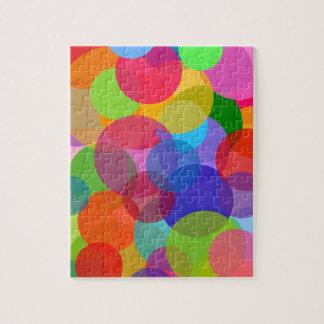 Multicolor Circles & Dots Puzzles