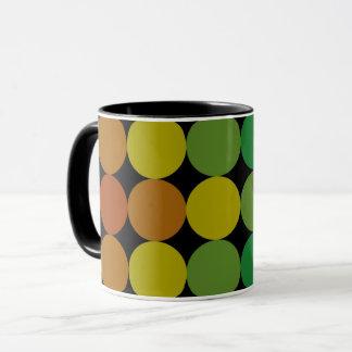 Multicolor Circles Mug