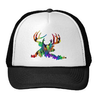 MULTICOLOR DEER HORN PRODUCTS CAP