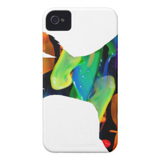 MULTICOLOR DOG PRODUCTS iPhone 4 CASE