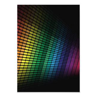 Multicolor equalizer card