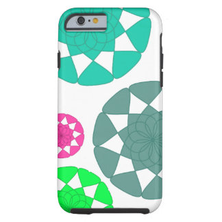 Multicolor Floral Design Case for iPhone 6/6S
