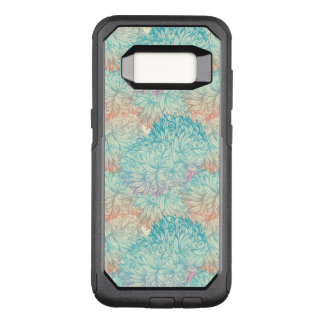 Multicolor Floral Doodle Pattern OtterBox Commuter Samsung Galaxy S8 Case