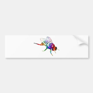 MULTICOLOR FLY PRODUCTS BUMPER STICKER