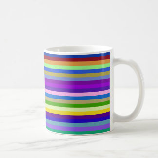 multicolor geometric Design Coffee Mug