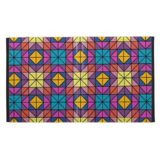 Multicolor glass mosaic iPad folio case
