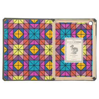 Multicolor glass mosaic iPad air covers