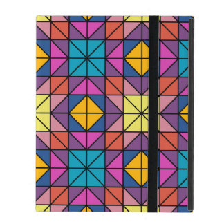 Multicolor glass mosaic iPad covers