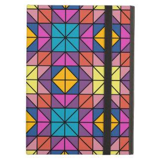 Multicolor glass mosaic iPad air case