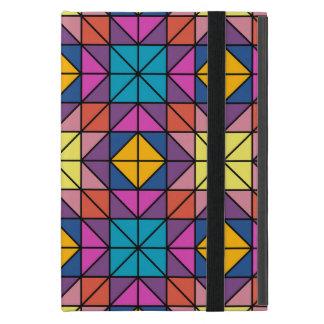 Multicolor glass mosaic iPad mini cover