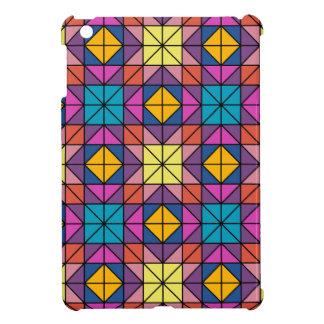 Multicolor glass mosaic cover for the iPad mini