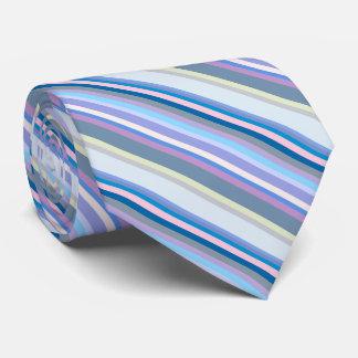 Multicolor Green/Gray/Beige/Pink/Purple/Blue Tie