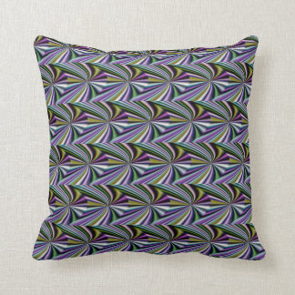 Multicolor Green/Yellow/Silver/Pink/Purple/Blue Cushion