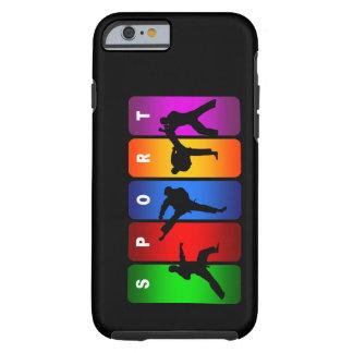 Multicolor Karate iPhone 6 case Tough iPhone 6 Case