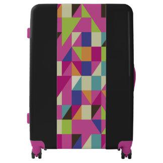 Multicolor Large Sized Luggage Suitcase