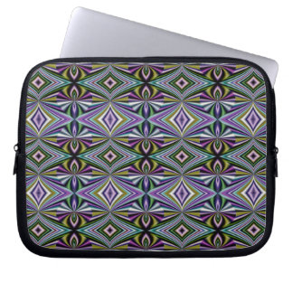 Multicolor Lavender/Violet/Blue/Green/Yellow/Pink Laptop Sleeve